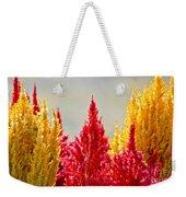 Colourful Plants Weekender Tote Bag