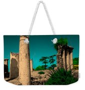 Colourful Ruins Weekender Tote Bag