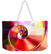 Colourful Tiled Spiral Weekender Tote Bag