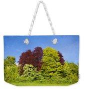 Colourful Trees Weekender Tote Bag