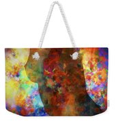 Colours Of Eve Weekender Tote Bag