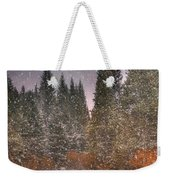 Colours Of Winter Weekender Tote Bag by Juli Scalzi