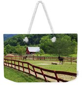 Colts On A Farm Weekender Tote Bag