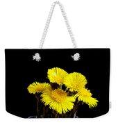 Coltsfoot Bouquet Weekender Tote Bag