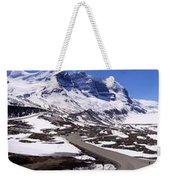 Columbia Icefields, Alberta - Panorama Weekender Tote Bag