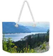 Columbia Lake Which Is Source Of The Columbia River-bc  Weekender Tote Bag