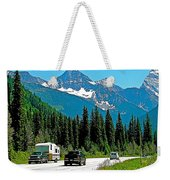Columbia Mountains In Glacier Np-british Columbia Weekender Tote Bag