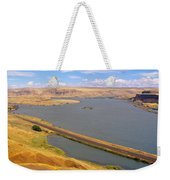 Columbia River In Oregon, Viewed Weekender Tote Bag