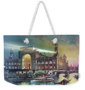 Columbian Expo, Electricity Building Weekender Tote Bag
