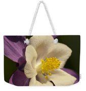 Columbine Floral Weekender Tote Bag