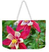 Columbine Flower Weekender Tote Bag