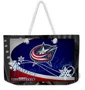 Columbus Blue Jackets Christmas Weekender Tote Bag