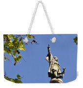 Columbus Monument - Barcelona Weekender Tote Bag