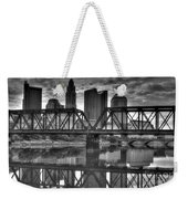 Columbus Ohio Downtown Bw Weekender Tote Bag