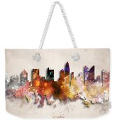 Columbus Painted City Skyline Weekender Tote Bag