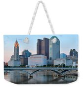 Columbus Panorama Weekender Tote Bag