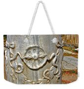 Column Along Sacred Road In Pergamum-turkey  Weekender Tote Bag