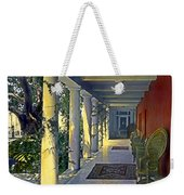 Columns And Chairs Weekender Tote Bag
