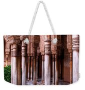 Columns Of The Court Of The Lions Weekender Tote Bag