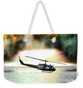 Combat Helicopter Weekender Tote Bag