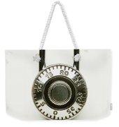 Combination Lock Weekender Tote Bag