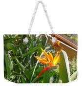 Combination Of Yellow-orange And Red Flower   Weekender Tote Bag