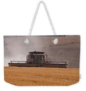 Combine Harvester And Cows Weekender Tote Bag