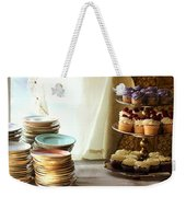 Come For The Dessert Weekender Tote Bag
