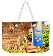 Come On In To A Mendocino Art Studio Weekender Tote Bag