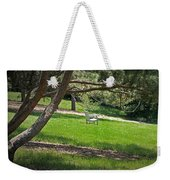 Come Sit - Enjoy Weekender Tote Bag