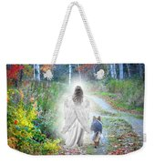 Come Walk With Me Weekender Tote Bag by Sue Long