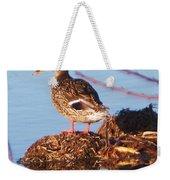 Comedian Duck Weekender Tote Bag