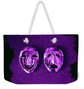 Comedy And Tragedy Masks 2 Weekender Tote Bag