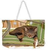 Comfy Kitty Weekender Tote Bag