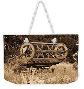 Comgine Wheel In Sepia Weekender Tote Bag