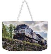 Coming Down The Tracks Weekender Tote Bag