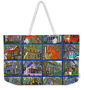 Coming Home Photo Assemblage In Asbury Grove In South Hamilton-massachusetts Weekender Tote Bag