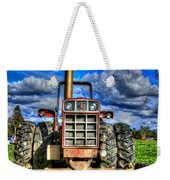 Coming Out Of A Heavy Action Tractor Weekender Tote Bag