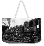 Coming Out Of The Engine Shed Weekender Tote Bag