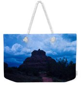 Coming Storm Bell Rock Weekender Tote Bag