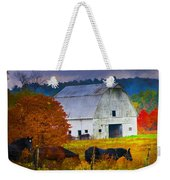 Coming To The Barn Weekender Tote Bag
