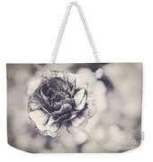 Coming Up In Black And White Weekender Tote Bag