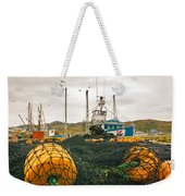 Commercial Fishing In The North Atlantic Weekender Tote Bag
