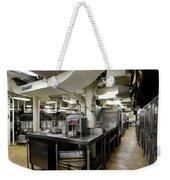 Commercial Kitchen Aboard Battleship Weekender Tote Bag