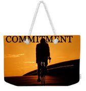 Commitment Weekender Tote Bag