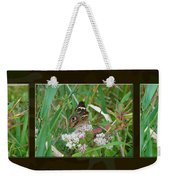 Common Buckeye Butterfly - Junonia Coenia Weekender Tote Bag