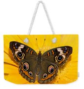 Common Buckeye Butterfly Weekender Tote Bag