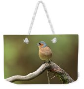 Common Chaffinch Weekender Tote Bag