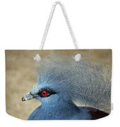 Common Crowned Pigeon Weekender Tote Bag
