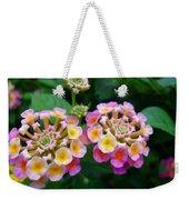 Common Lantana Flower Weekender Tote Bag